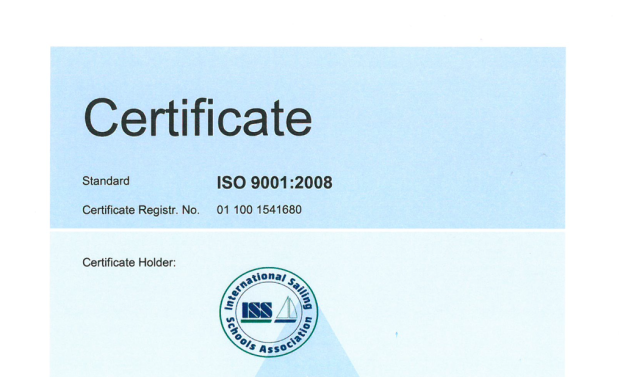 The ISSA's department responsible for certification obtained the ISO9001 certificate from the TUV-Rheinland company